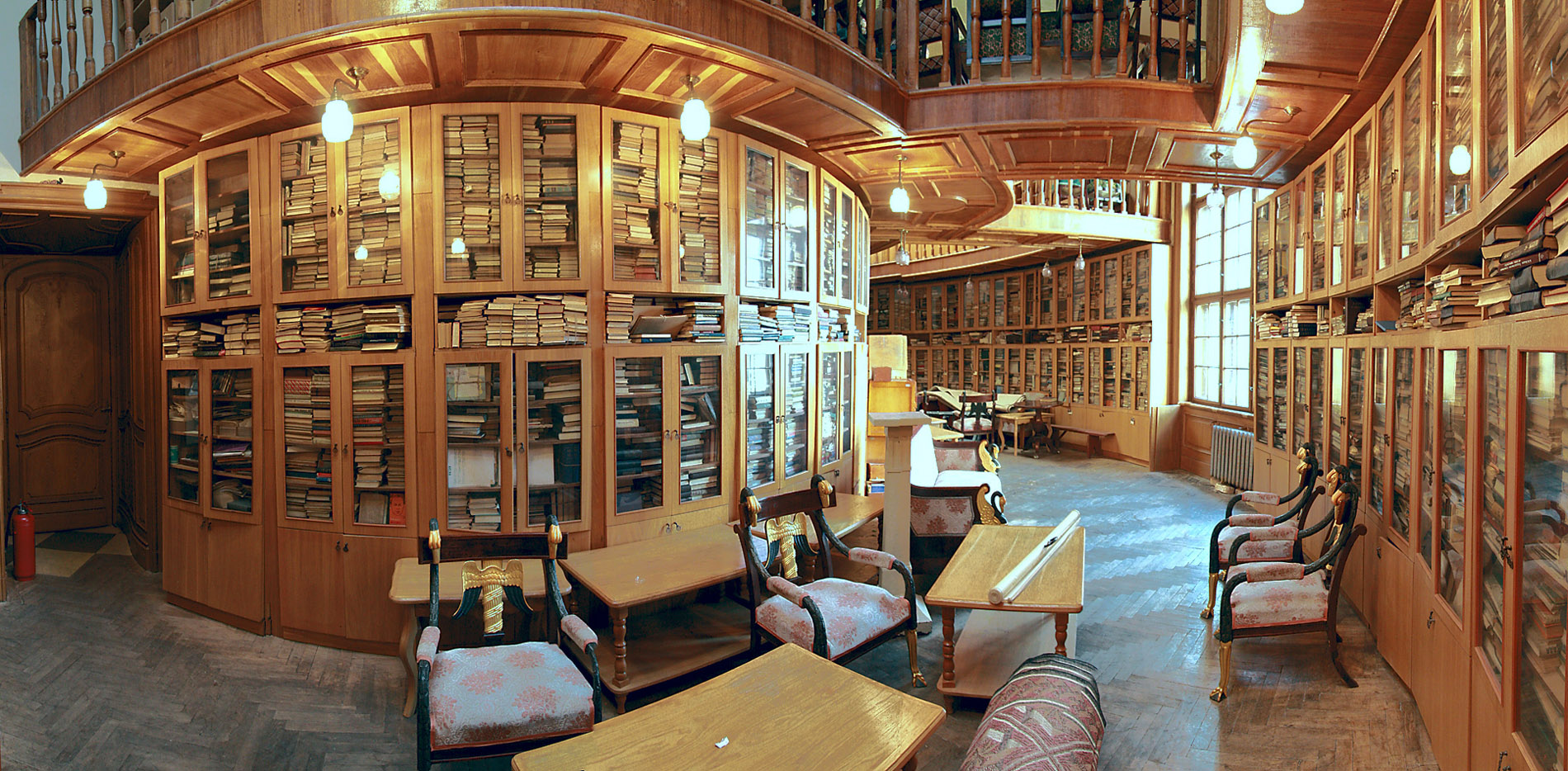 & Library in House of Scientists Lviv Ukraine