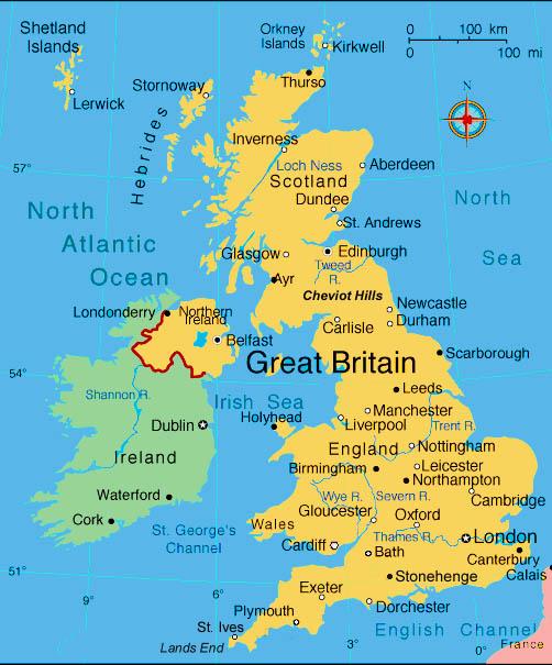 АНГЛІЙСЬКА МОВА: Meet Great Britain. The Geographical