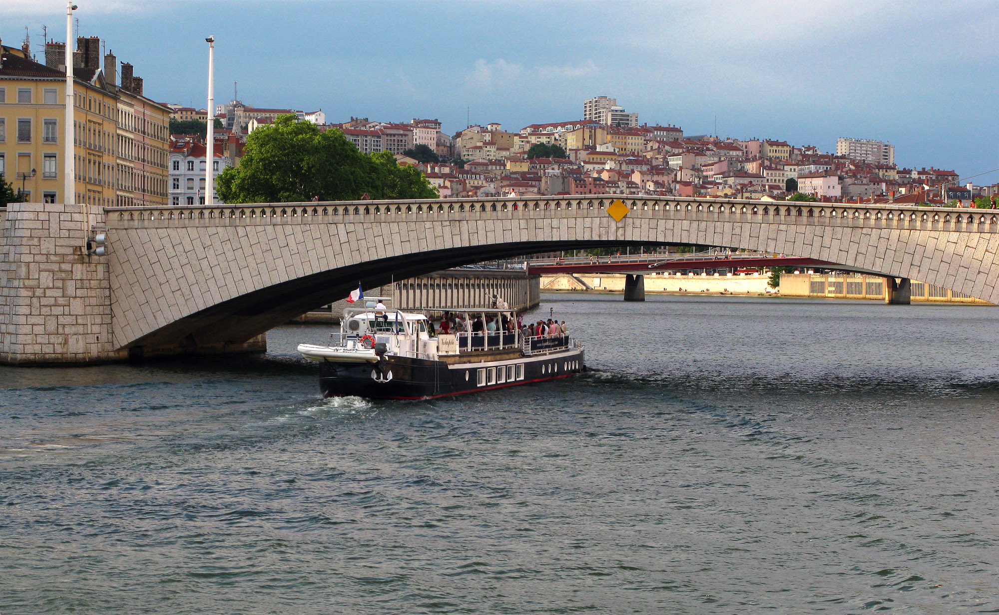 Lyon Boat Tour On Saone River