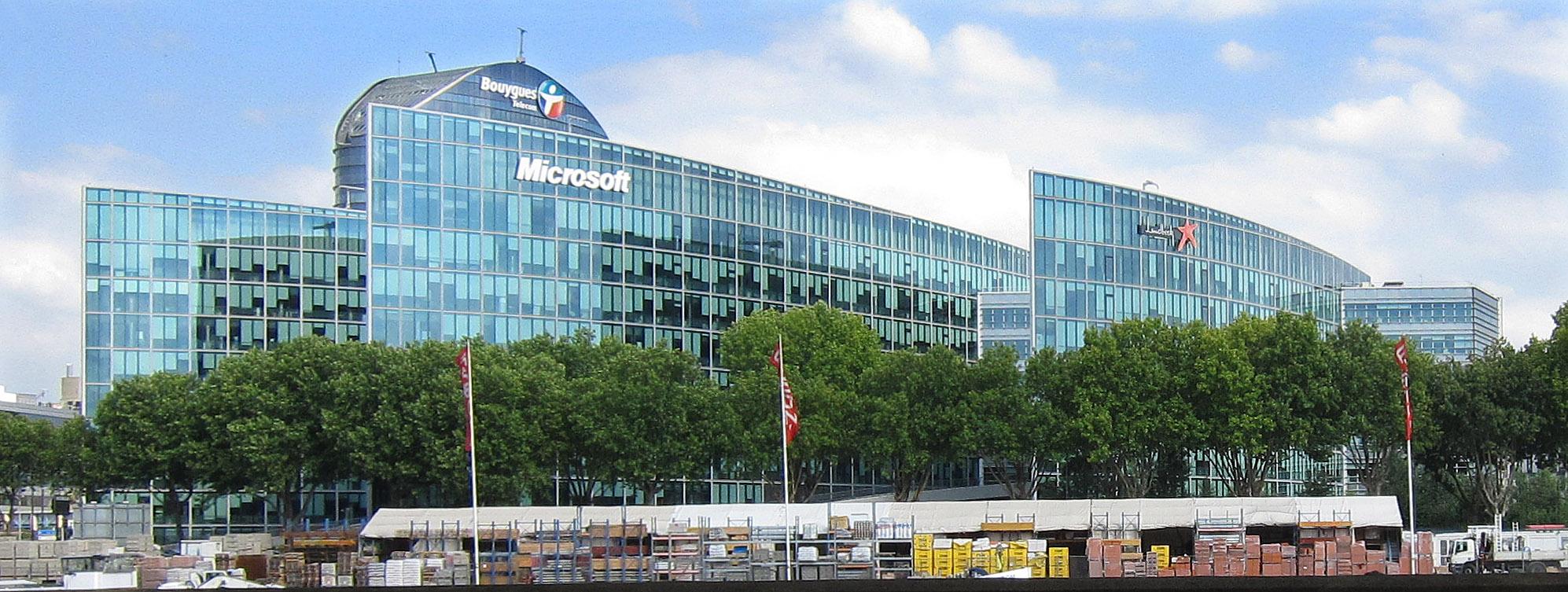 Microsoft in paris france