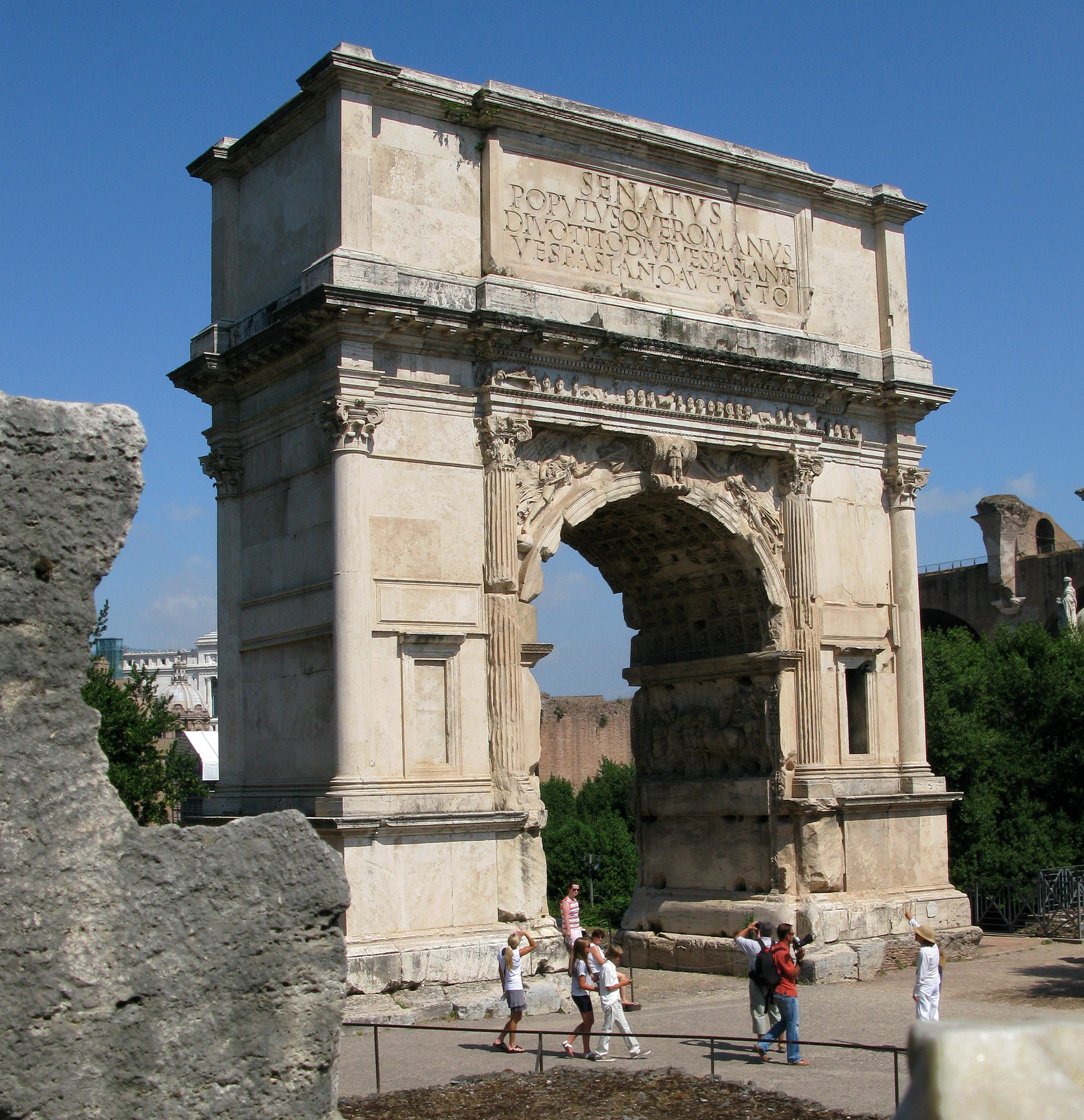 Image result for titus arch