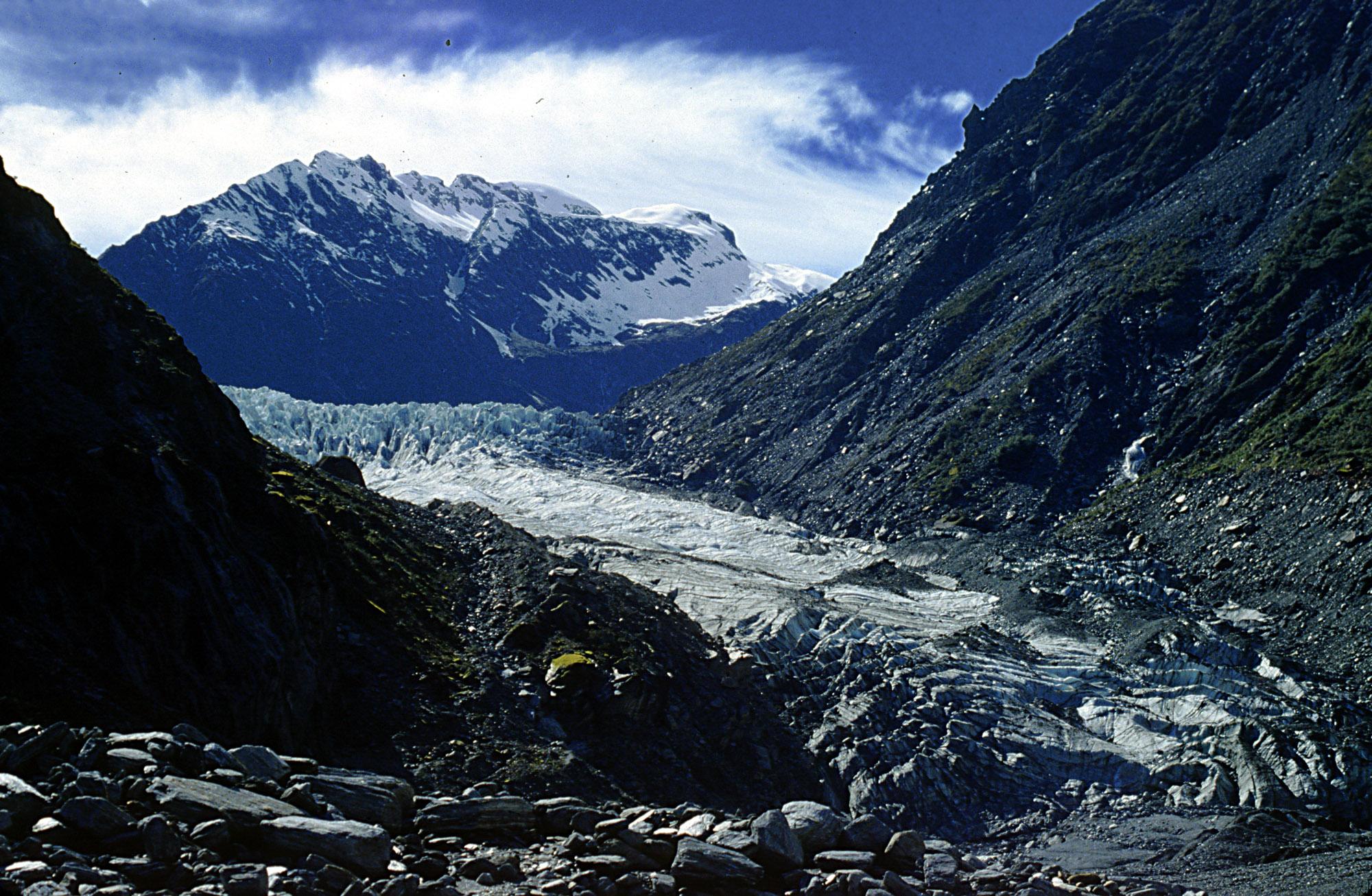 South Island New Zealand Glaciers