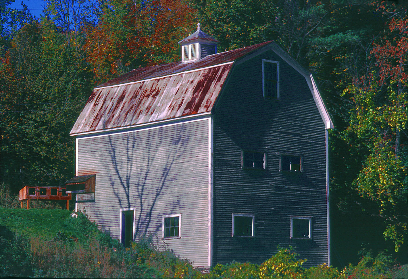 New england barn in fall for New england barns for sale