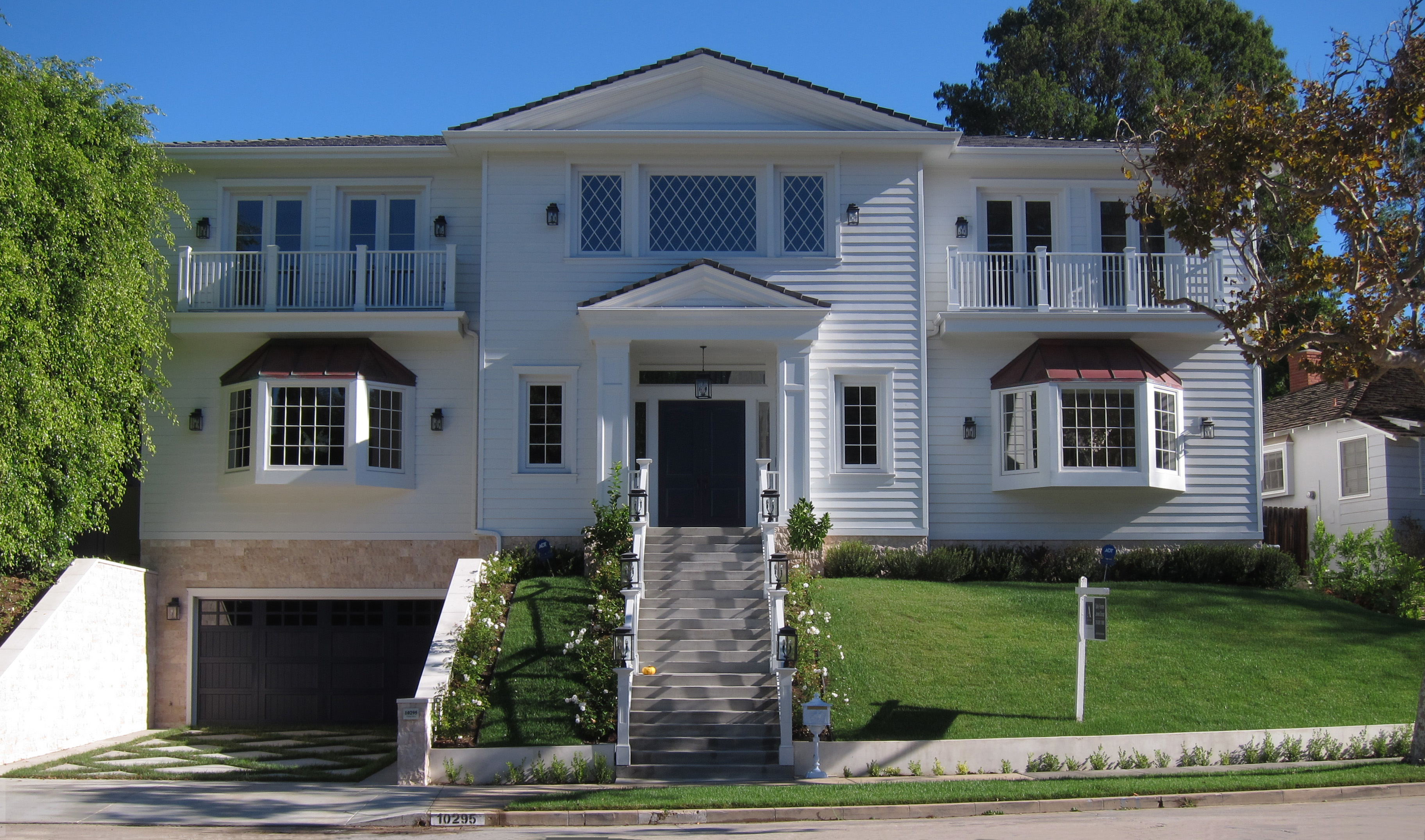 Cresta drive new built 8 bedroom house in cheviot hills 90064 for 8 bedroom homes