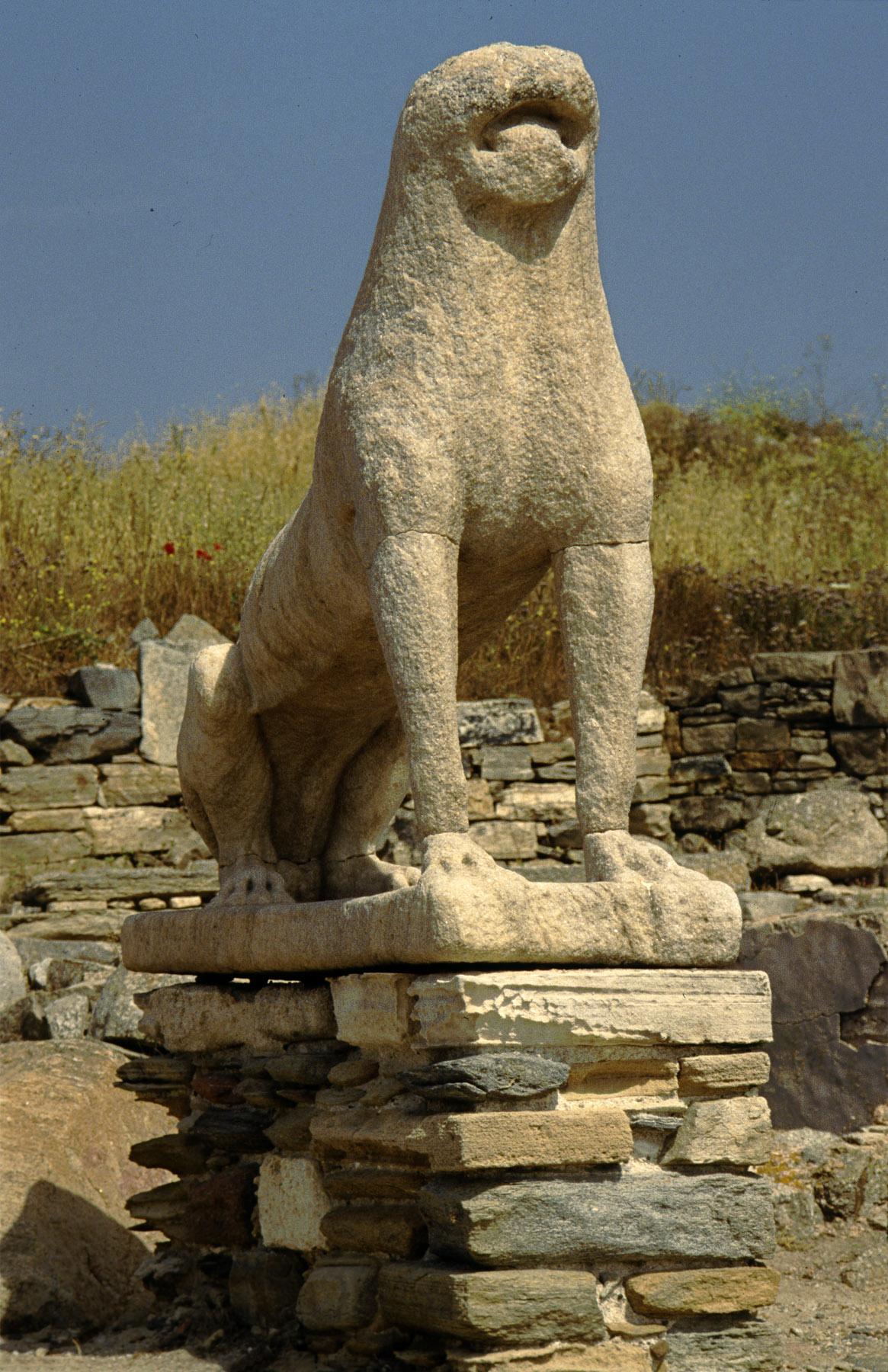 Delos, Greece lion