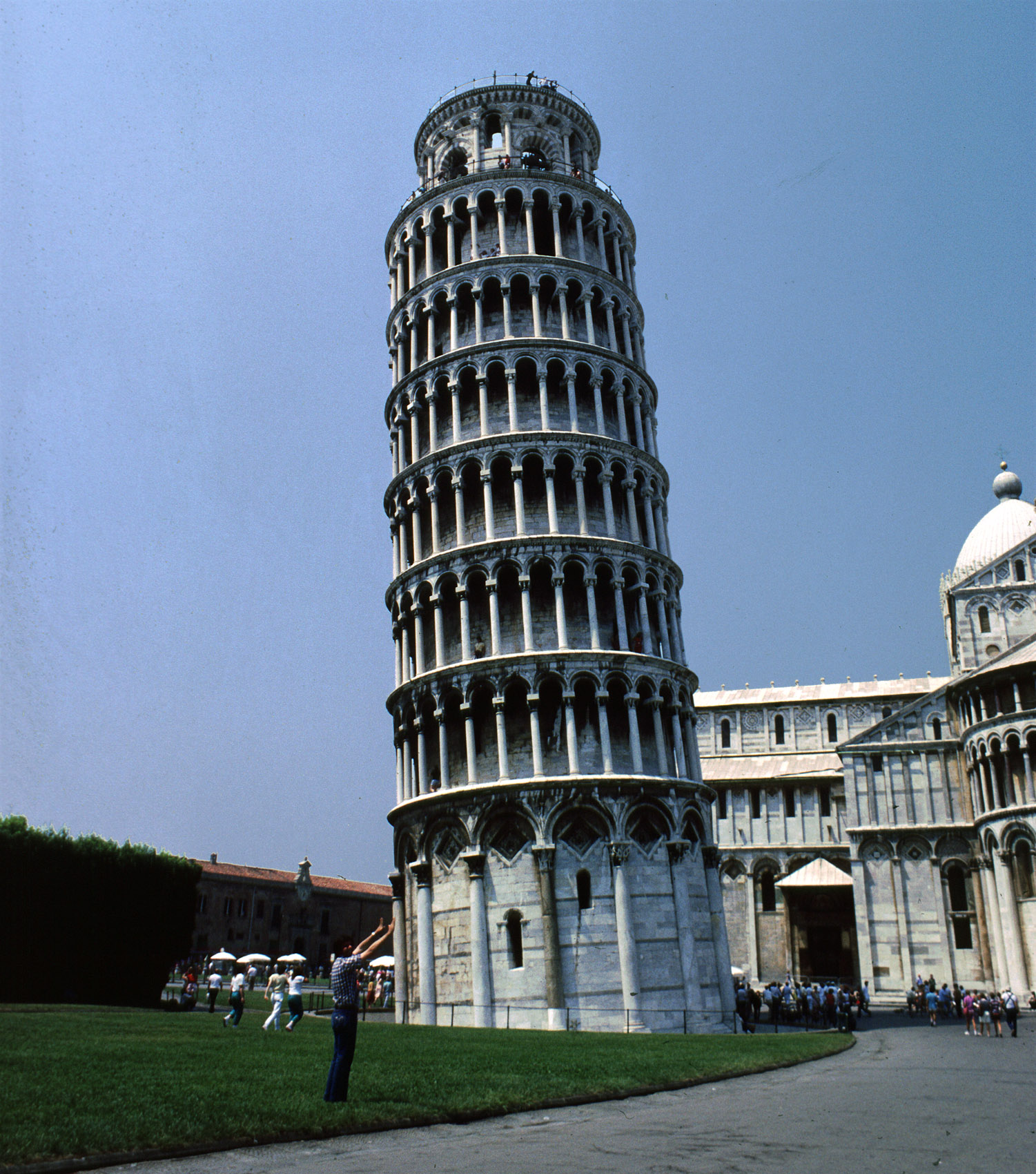 Leaning tower of pisa italy the leaning tower of pisa is a