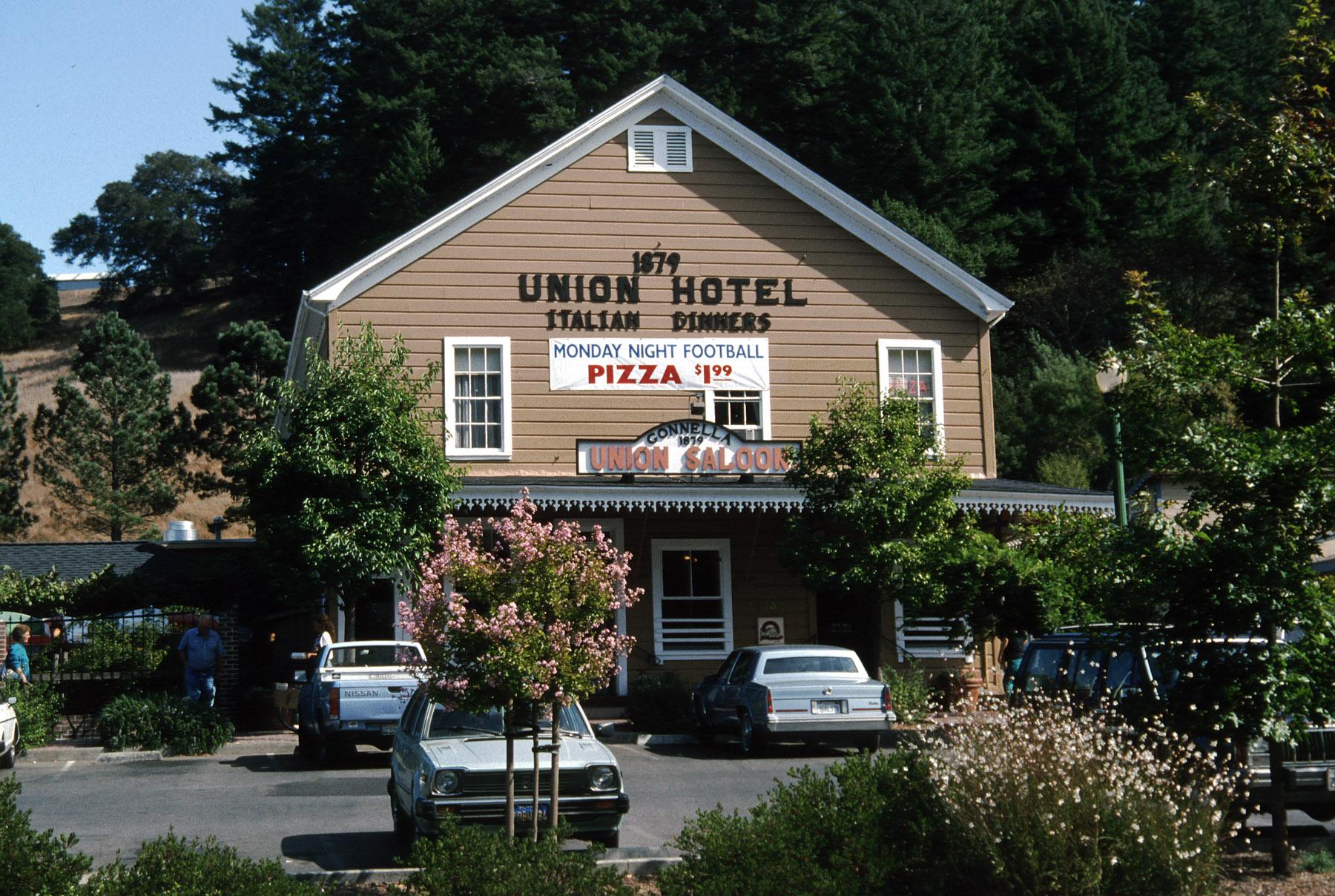 Union Hotel In Occidental California 1994