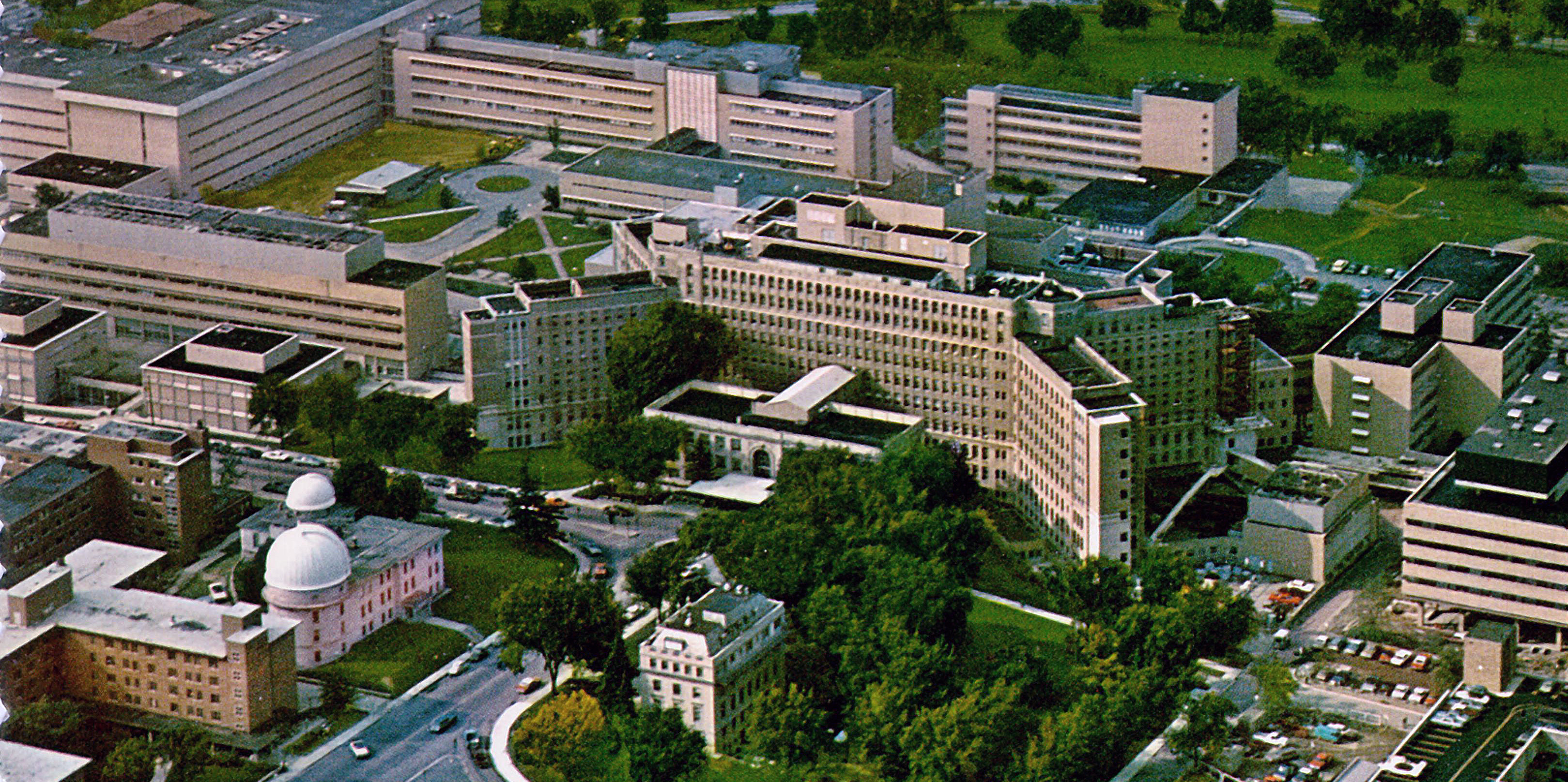 University Of Michigan Medical Center >> University Of Michigan Medical Center Closer View 1960s