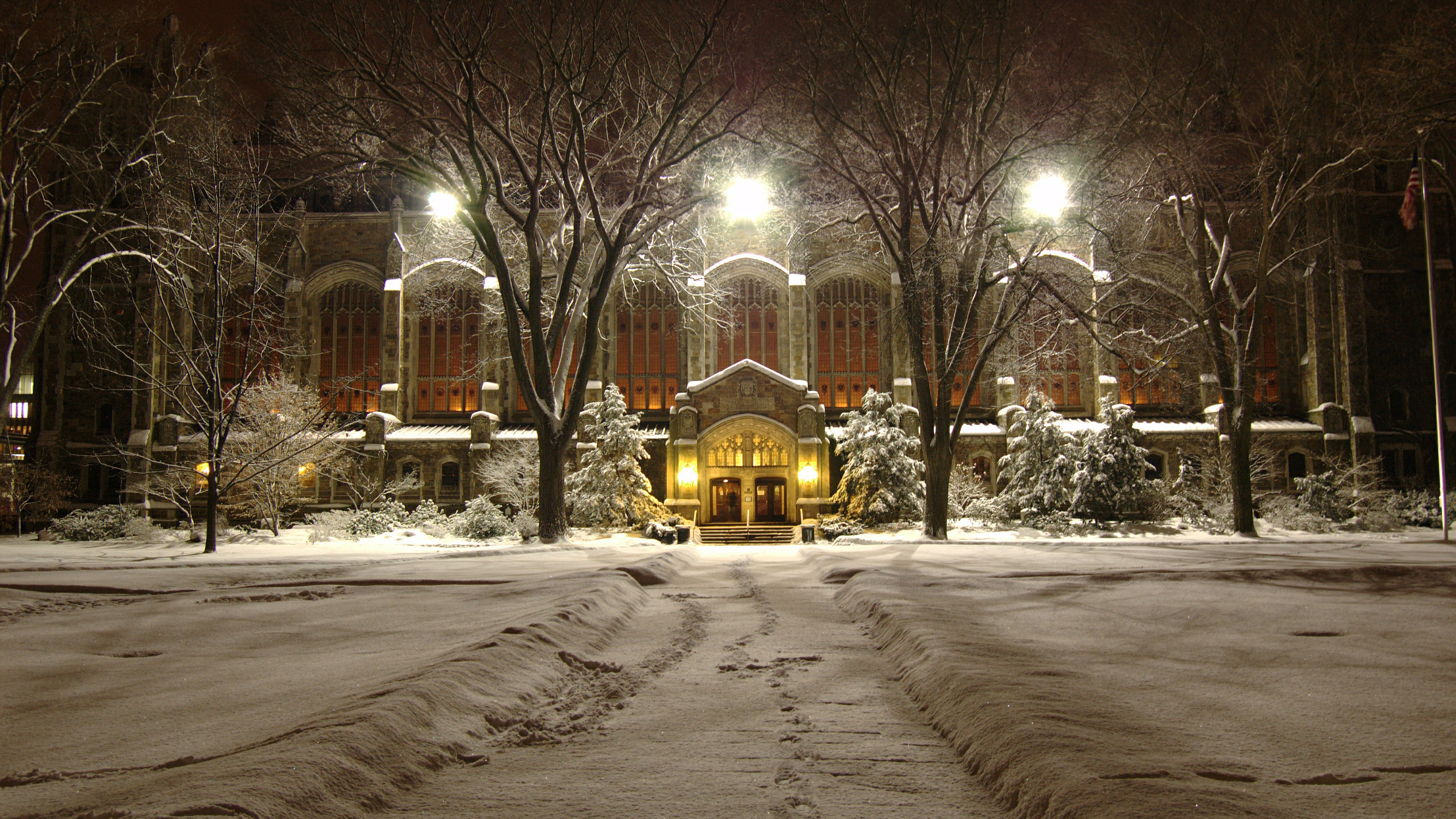 Autumn and winter at University of Michigan Law School