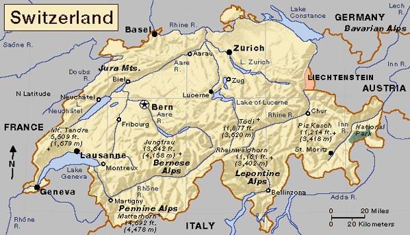 Switzerland Home Page